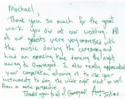 Grooveyard testimonials - Version 2